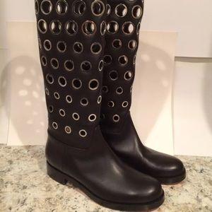 Christian Louboutin boots knee high black 37/6.5